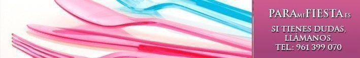 Cubiertos de Plástico Colores