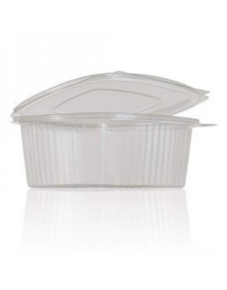 Tarrina de plastico transparente