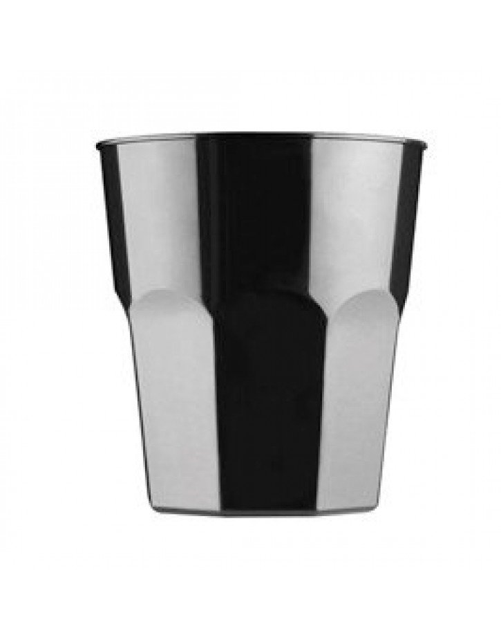 VASO DE LICOR COLOR NEGRO
