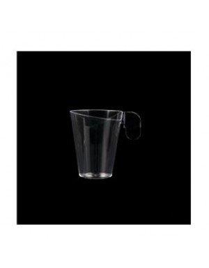 TAZA CAFÉ DESIGN 72 ml TRANSPARENTE (12 Ud/Paq)