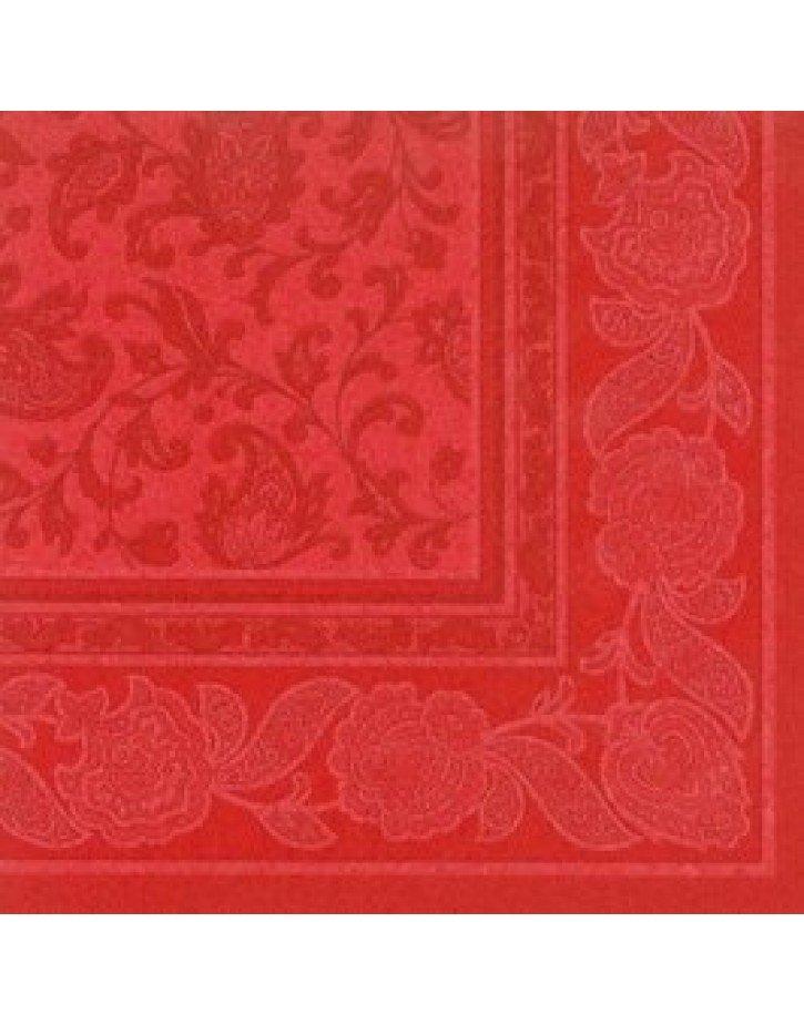 SERVILLETAS rojas papel