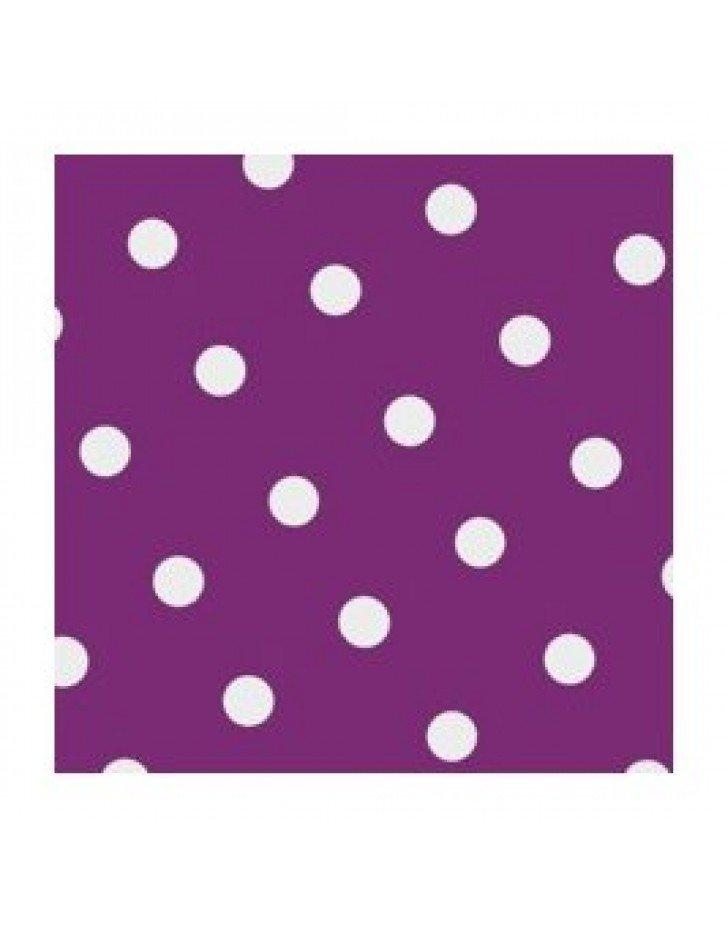 SERVILLETAS DOTS  20 x 20 cm COLORES 20 Ud/Paq