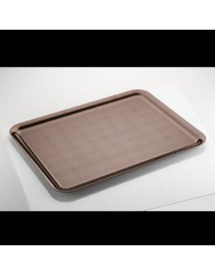BANDEJA CUADRADA PS CHOCOLATE (Caja)