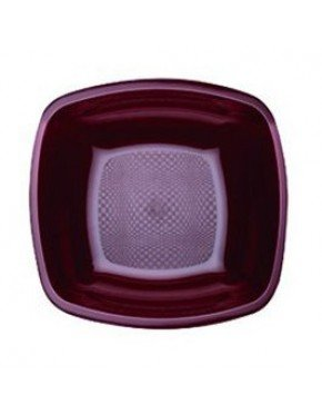PLATO HONDO 18 cm COLORES PP 24 Paq/Cj