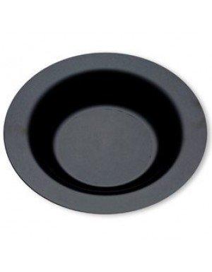 PLATO HONDO EXTRA RESISTENTE 23 cm NEGRO  20 Ud/Paq