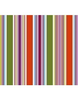"""SERVILLETAS """"BROKEN LINES""""  16,5 x 16,5 cm MULTICOLOR (20 Ud/Paq)"""