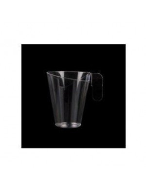 TAZA CAPUCHINO DESIGN 155 ml TRANSPARENTE (12 Ud/Paq)