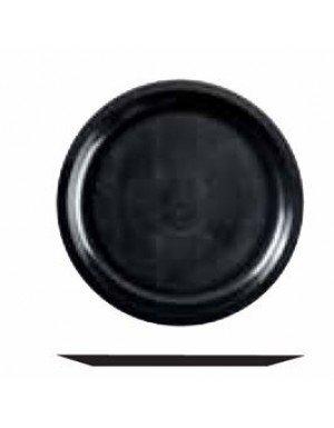 PLATO GRANDE PP 29 cm NEGRO  25 Ud/Paq