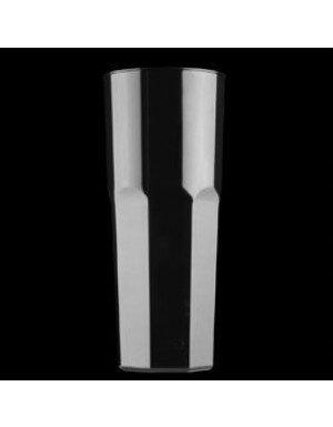 VASO COCTEL LARGO DRINK 350 cc NEGRO (10 Ud/Paq)