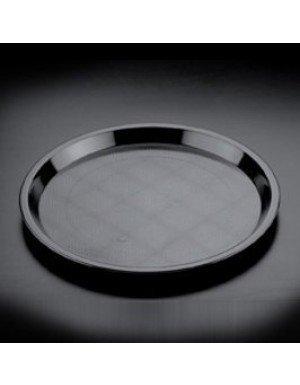 BANDEJA CAMARERO REUTILIZABLE REDONDA 32 cm NEGRO 1 Ud/paq