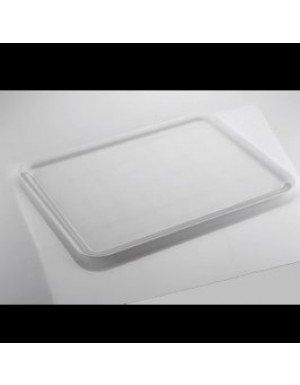 BANDEJA REUTILIZABLE RECTANGULAR 37x50 cm BLANCO 1 Ud/Paq